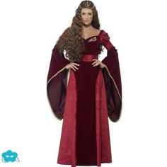 ../Disfraz de reina medieval para mujer