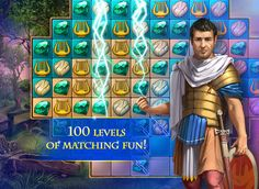 Cradle of Rome 2 HD on App Store:   Welcome to the legendary Cradle Of Rome2  a mix of never ending match-3 pleasure engaging puzzles and city-builder in one game! Build your own Rom...  Developer: Awem Studio  Download at http://ift.tt/1rD3dGS