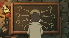 This is how you make a logical chart. A lot of little question marks pointing to one big question mark. (Stanford Pines, Tale of Two Stans, Gravity Falls