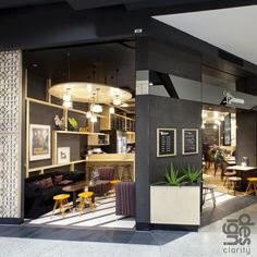 Cafe Ritrovo by Design Clarity, via Behance