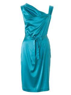 burda style, Schnittmuster - Macht eine Traumfigur, das sexy Kleid mit asymmetrischen Trägern und einseitig gelegten Falten an der Brust und Hüftpartie. Durch einen Stoffgürtel lässt sich die Taille zusätzlich betonen. Nr. 109 A aus 05-2016