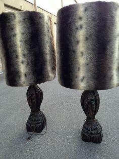 2 Witco Lamps Tiki Vintage Hawaii Mid Century Antique | eBay