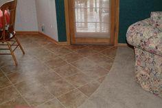 Floating Porcelain floors