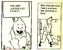 Tintin chez les Rastas
