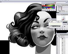 How to Create the Discreet Charm in Illustrator - Illustrator Tutorials - Vectorboom