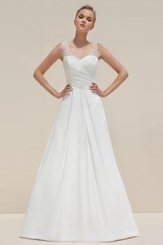 L Mark Lesley Style 7091 Bridal Collection Stylish Stunning Wedding Dresses Beautiful