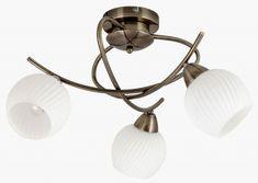 EVANGELINE Rabalux - svetlo stropné - antický bronz+sklo