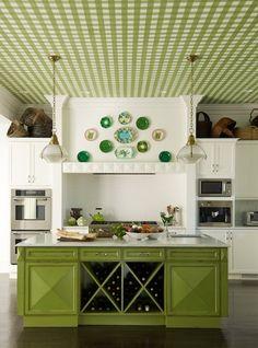 19-Green-Kitchen-Island