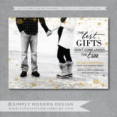 holiday card, christmas card, pregnancy announcement, new baby ...