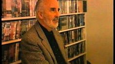 Christopher Lee in Finland at Night Visions Hammertime 2002 - YouTube