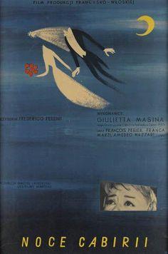Fellini / Polanski Polish film posters | @SwannGalleries now : Lot 74/75
