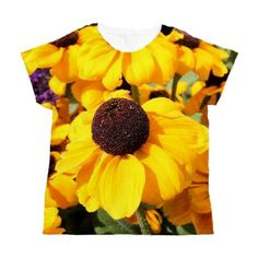 Black-Eyed Susans Women's All Over Print T-Shirt