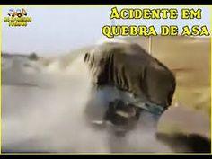 FLAGRANTE: Momento Em Que Um Caminhão Capota Em Auto Velocidade