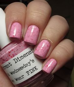 On+Wednesday's+We+Wear+PINK+Nail+Polish+15ml+by+DIFFERENTdimension,+$8.50