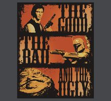 TShirtGifter presents: The Good, The Bad and The Ugly Star Wars Pictures, Star Wars Images, Edge Of The Empire, Graffiti, Lord, Star Wars Wallpaper, Star Wars Gifts, Arte Horror, Star Wars Poster