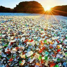 1000 Ideas About Glass Beach California On Pinterest
