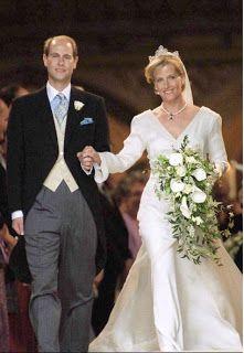 The Earl of Wessex and Sophie Rhys-Jones June 19, 1999