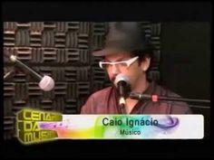 Caio Ignacio no programa Cenario da Musica