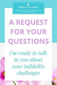 I'm ready to answer your infidelity questions!