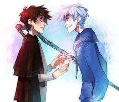 Jack Frost and Jack Overland - Rise of the Guardians