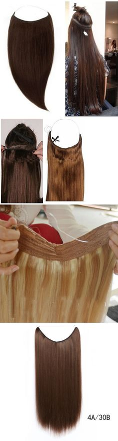 Before after tyhermenlsia stick tip remy russian human hair wig and extension supplies remy 100 human hair invisible wire handband human hair extension pmusecretfo Choice Image