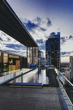 rooftop penthouse pool