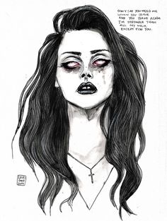 Pretty when you cry. by this print here