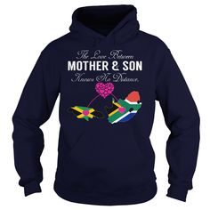 (Top Tshirt Sale) THE LOVE BETWEEN MOTHER AND SON Jamaica South Africa at Tshirt United States Hoodies, Funny Tee Shirts