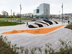 4 colored islands, Islands Brygge, København, Denemarken by Sweco Architects