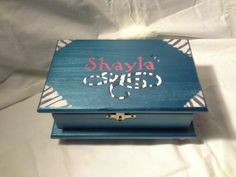 Wood Crafts- Beautiful topaz, zebra design box by Enchanted Giftss on Etsy - sold.