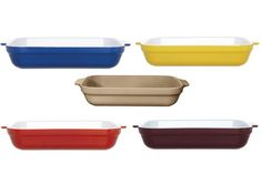 Emile Henry Lasagna dishes - Colorful freezer to oven to table - heirloom quality!