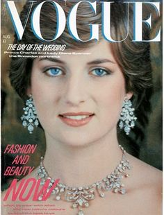 August 1981. Model - Diana, Princess of Wales