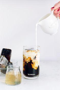 Caramel Iced Coffee for summer entertaining