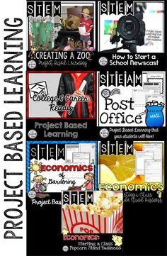 Project Based Learning Lessons will engage your students as they create simulations of real live event learning tasks. Students will engage and think critically as they go through these projects. Students love learning when it is real, relevant, and engaging!