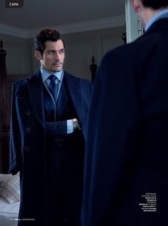 Suits & Shirts — David Gandy by Arnaldo Anaya-Lucca. GQ Style...