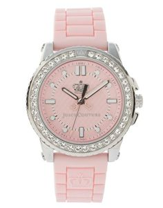 Juicy Couture Pink Watch. http://www.shop.com/sophjazzmedia/hJewelry-~~pink+watches-internalsearch+260.xhtml