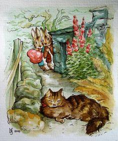 Peter Rabbit and Benjamin Bunny (1) From: Miss Hurrikan Deviant Art, please visit