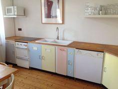 50er jahre küchenschrank - bunt   furniture/ home   pinterest   50 ... - Pastell Küche