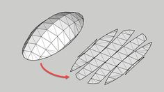Unwrap and Flatten Faces | SketchUp Extension Warehouse