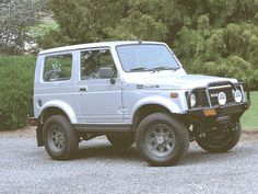 Suzuki Samurai... Aside from all the media hype and people's negative views, these are the most capable 4wheeling and rutting rigs out there, easy on gas, and unique...small and sleeper tough, great boulder rigs.