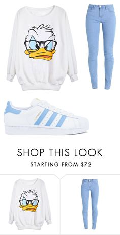 """""""Untitled #761"""" by alanawedge59 on Polyvore featuring adidas"""