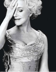 """Helen Mirren  """"Flesh sells. People don't want to see pictures of churches. They want to see naked bodies."""""""