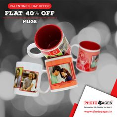 GIVE HER A HUG, BY HAVING HER ON YOUR MUG! #Valentinesgifts #ValentinesDay #PhotoPages  #Ahmedabad #personalizedmug #personalized #mug  Photo Mugs: http://ow.ly/XMQgx