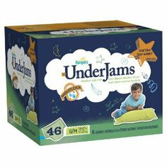 Pampers UnderJams Boys Diapers Big Pack Size 7, S/M, 46 Count  for more Detail visit our website: http://premiumhealthproducts.com/