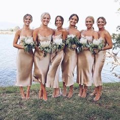 Bridesmaids dresses. Bec and bridge