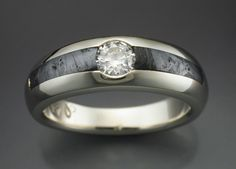 meteorite ring diamond - . This ring is waiting for me.. my size and everything