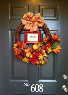 Fall wreath, love ;)