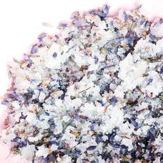 DIY Meersalz Lavendel Peeling