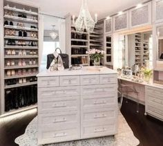 53 Elegant Closet Design Ideas For Your Home. Unique closet design ideas will definitely help you utilize your closet space appropriately. An ideal closet design is probably the only avenue towards go. Custom Closet Design, Walk In Closet Design, Bedroom Closet Design, Master Bedroom Closet, Closet Designs, Wardrobe Design, Best Closet Systems, Apartment Closet Organization, Apartment Ideas
