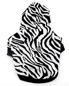 SELMAI Hooded Dog Costumes Zebra Pet Tee Shirts Small Pup... https://www.amazon.com/dp/B01KYXURR8/ref=cm_sw_r_pi_dp_x_NdPNybGK625NN